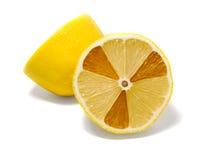 Radioactieve citroen royalty-vrije stock fotografie
