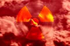 Radioactieve Lucht Royalty-vrije Stock Foto