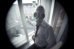 Radioactieve neerslag Stock Foto