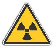 Radioactif Image stock