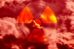 Radioactive Air Royalty Free Stock Photo