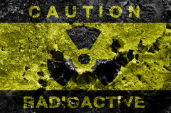 Radioactive background Royalty Free Stock Photos