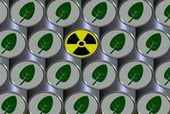 Radioactive barrel Royalty Free Stock Photo