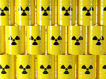 Radioactive barrel Royalty Free Stock Photography