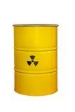 Radioactive barrel Stock Image