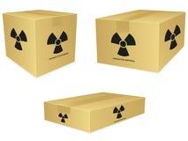 Free Radioactive Box Icons Stock Images - 17882904