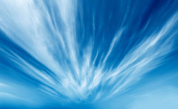 Radioactive clouds Royalty Free Stock Images