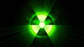 Radioactive danger symbo
