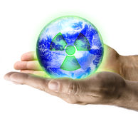 Radioactive Earth Stock Image