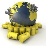 Radioactive Earth Stock Photography