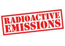 RADIOACTIVE EMISSIONS Stock Image