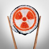 Radioactive Food Health Concern Royalty Free Stock Images