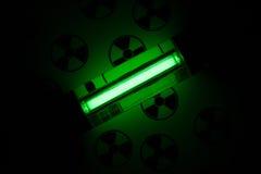 Radioactive glow Royalty Free Stock Image