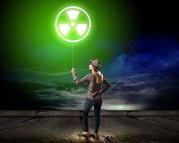 Radioactive hazard Stock Images