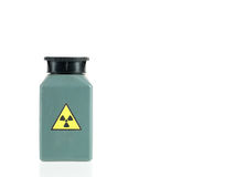 Radioactive isotope sample Stock Photography