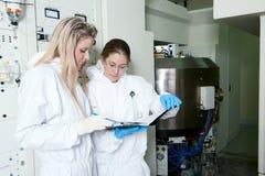 Radioactive laboratory Stock Photo