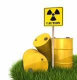 Radioactive Landfill Stock Image