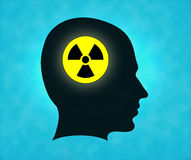 Radioactive man Royalty Free Stock Photo