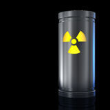 Radioactive material Stock Images
