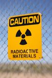 Radioactive Materials Sign Royalty Free Stock Photos