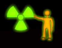 Radioactive Pollution Stock Image
