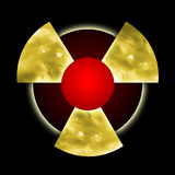 Radioactive Pollution Royalty Free Stock Photography