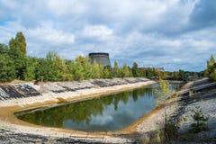 Radioactive pond Royalty Free Stock Photo
