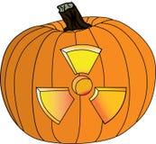 Radioactive pumpkin V2 Royalty Free Stock Photography
