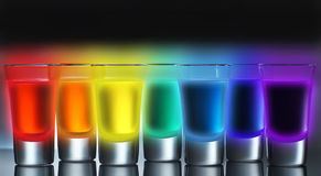 Radioactive Rainbow Royalty Free Stock Photos