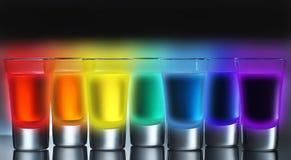 Radioactive Rainbow Royalty Free Stock Photos