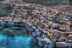 Radioactive Rock Wall Royalty Free Stock Images