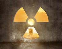 Radioactive room Royalty Free Stock Photography