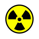 Radioactive Sign Royalty Free Stock Photography