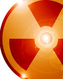 Radioactive sign Stock Photos