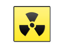 Radioactive symbol Stock Photos
