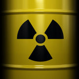 Radioactive Symbol Royalty Free Stock Photos