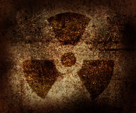 Radioactive symbol Stock Photography