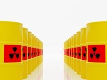 Radioactive waste Royalty Free Stock Photos