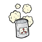 radioactive waste cartoon Stock Photo