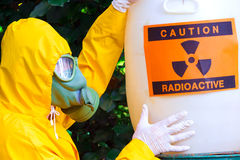Radioactive waste Royalty Free Stock Images