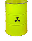 Radioactive Waste Royalty Free Stock Photography
