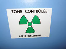 Radioactive zone Royalty Free Stock Photo