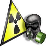 Radioactiviteit Royalty-vrije Stock Afbeeldingen