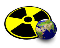 Radioactivity Royalty Free Stock Photos