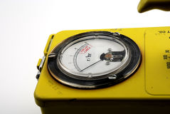 Radioactivity. Stock pictures of a geiger counter used to detect traces of nuclear radiation Royalty Free Stock Photography