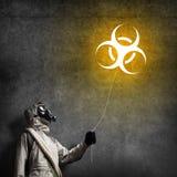 Radioactivity catastrophe Royalty Free Stock Photography