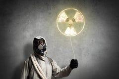 Radioactivity catastrophe Stock Photography