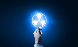 Radioactivity concept Royalty Free Stock Images