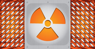 Radioactivity danger Royalty Free Stock Photos