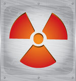 Radioactivity danger Royalty Free Stock Photography